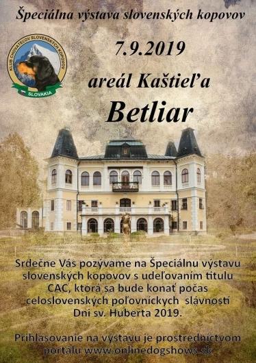 Špeciálna výstava slovenských kopovov