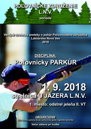 Verejné strelecké preteky 1.9.2018.