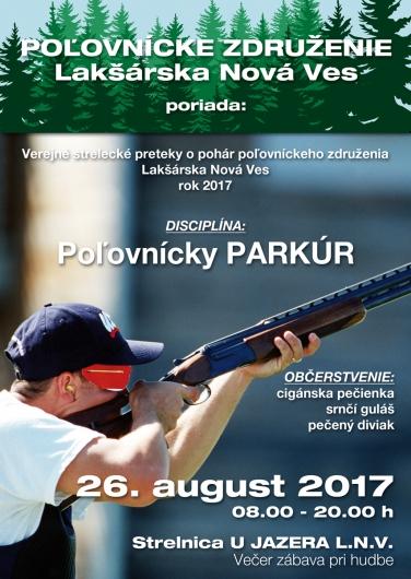 Verejné strelecké preteky 26.8.2017.