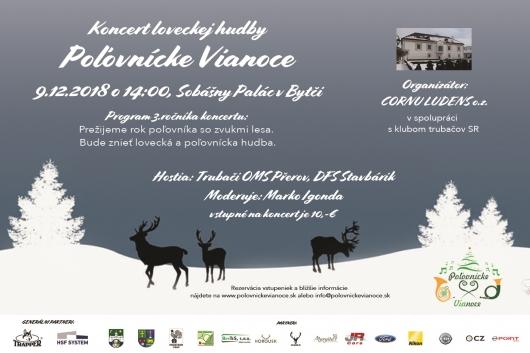 Koncert loveckej hudby Poľovnícke Vianoce