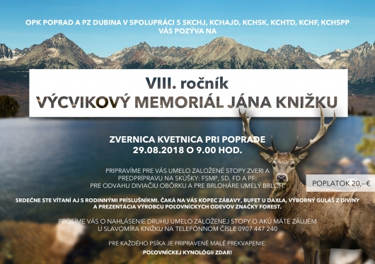 Výcvikový memorial Jána Knižku Opk -Poprad