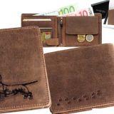 Kožená peňaženka jazvečík