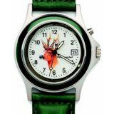 Poľovnícke hodinky s kalendárom kožený remienok/hlava srnca
