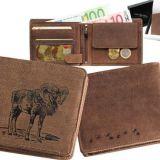 Kožená peňaženka muflón ležatá