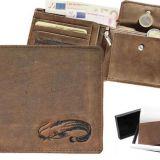 Kožená peňaženka sumec ležatá