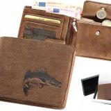 Kožená peňaženka zubáč 01 ležatá