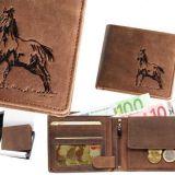 Kožená peňaženka kôň 03 ležatá