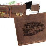 Kožená peňaženka autobus RTO ležatá