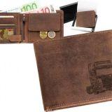Kožená peňaženka kamión 01 ležatá