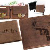 Kožená peňaženka Glock ležatá