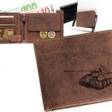 Kožená peňaženka tank Panther ležatá