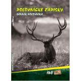 Kniha denník poľovníka - poľovnícke zápisky