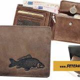 Kožená peňaženka kapor ležatá