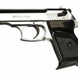 Obranná plynová pištoľ EKOL Lady Shiny Chrome