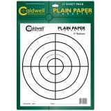 Aktívne papierové terče Caldwell 25 ks