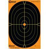 Aktívne papierové terče Caldwell orange 5 ks