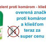 Repelent proti komárom a kliešťom sprej 50ml
