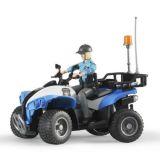 Policajná štvorkolka BRUDER