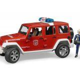 Hasičský Jeep Wrangler BRUDER