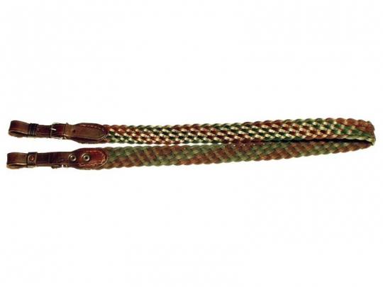Remeň na zbraň pletený široký 3cm
