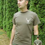tričko LovuZdar.sk s logom vpredu a s veľkým logom vzadu