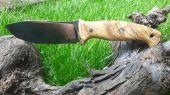 Nesmuk M390 a stabilizovana oliva