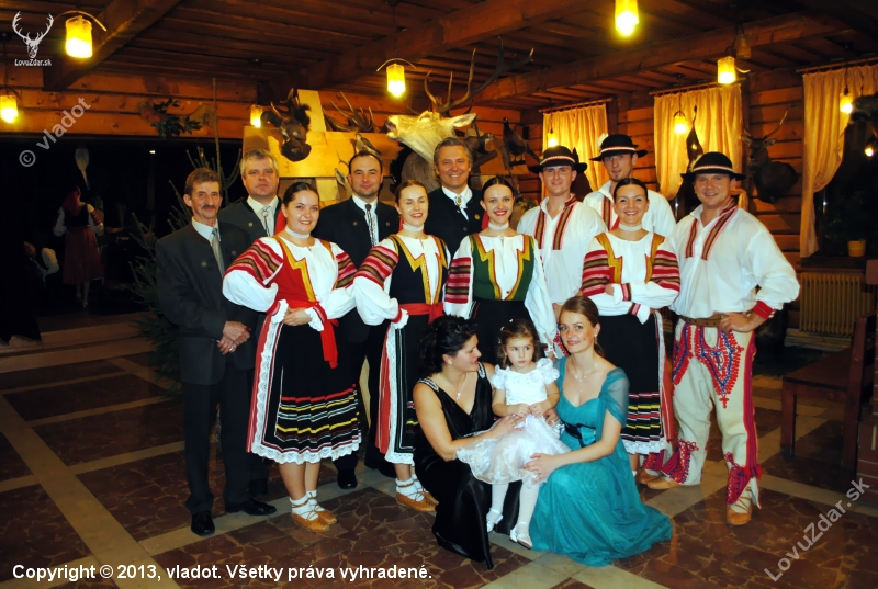 30fdde96c Poľovnícky ples PZ Dunajec Spišská Stará Ves - poľovnícka fotografia ...