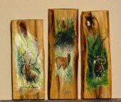 maľba na drevo