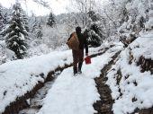 Zimná prechádzka...