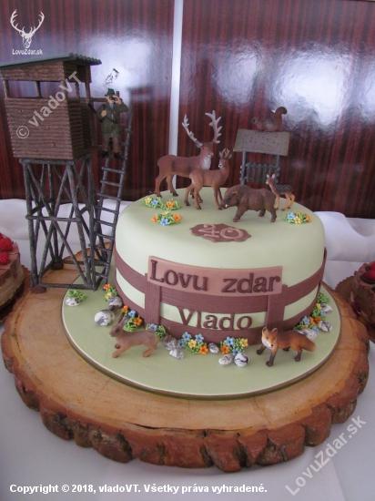 torta od manželky k mojim okrúhlym narodeninám
