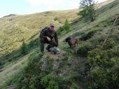 Lov svišťov.