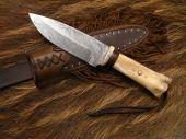 Nůž Damašek