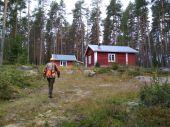 Lovecké chaty na severu