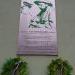 Pamatna tabula na budove  Odstepneho lesneho zavodu  Levice