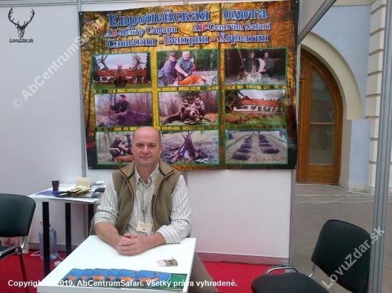 poľovnícka výstava v Moskve