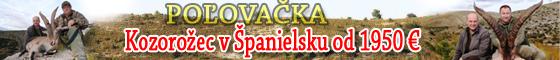 poľovačka kozorožec Španielsko